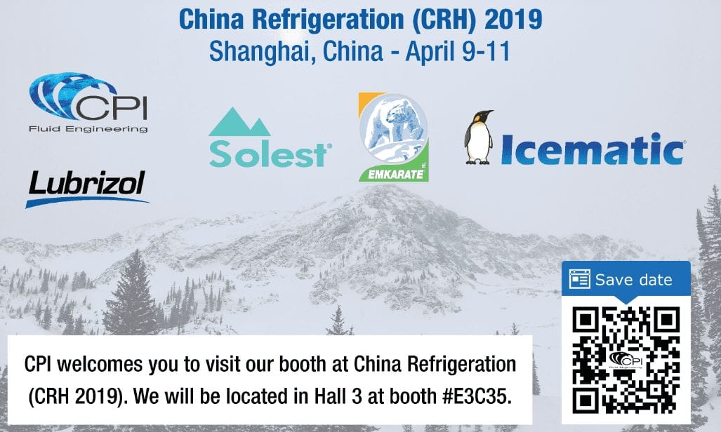 CPI at China Refrigeration 2019