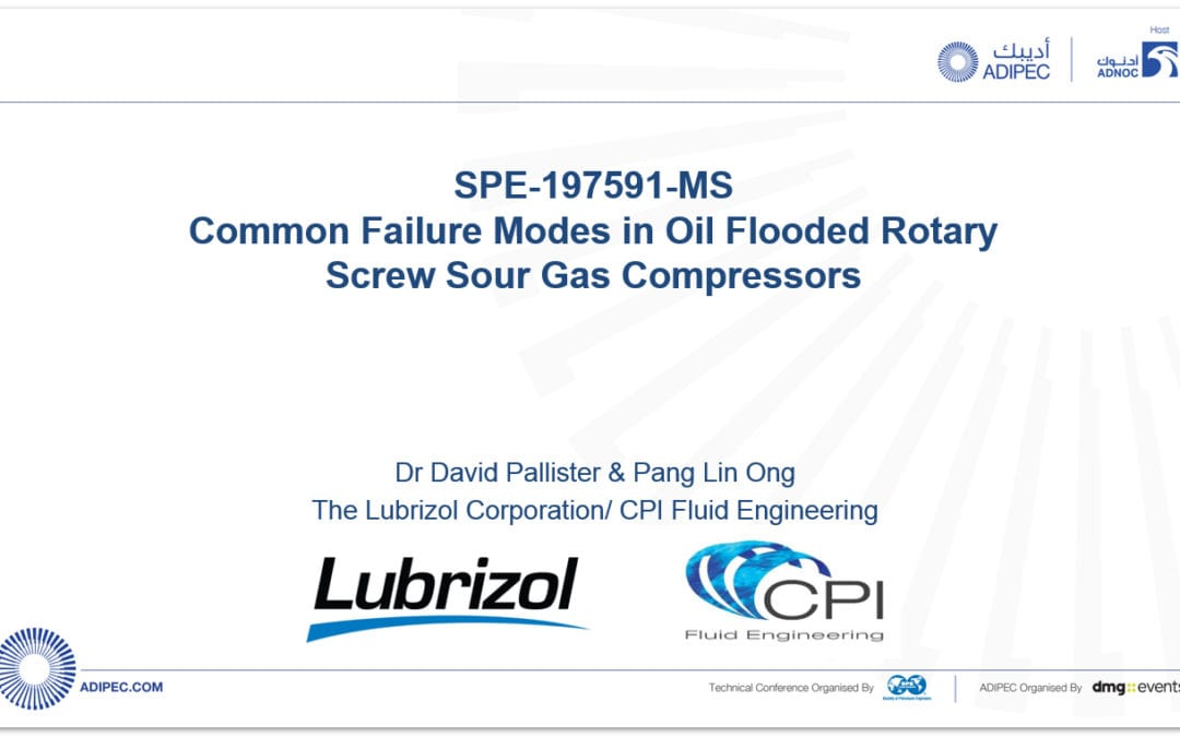 Common Failure Modes in Oil Flooded Rotary Screw Sour Gas Compressor